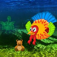 play Big Thanksgiving Underwater Fish Escape