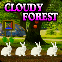 Cloudy Forest Escape game