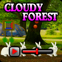 Cloudy Forest Escape Walkthrough game