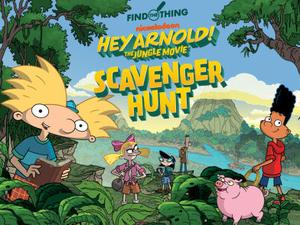 play Hey Arnold!: Find The Thing Puzzle