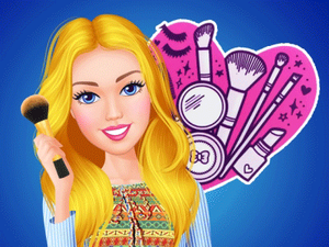 Barbie Homemade Make Up game