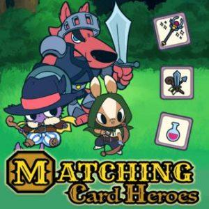 play Matching Card Heroes