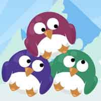play Coolbuddy Colorful Penguins