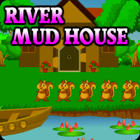 River Mud House Escape game