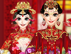 Chinese Bride Makeover game