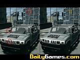 Hummer Differences game