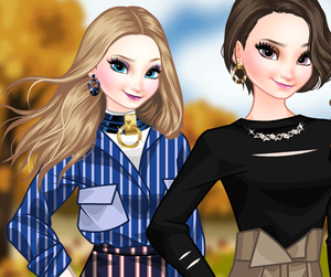 Fall In Paris Makeover game
