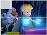 play Lego Frozen Northen Lights Puzzle