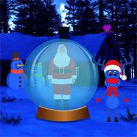 play Big Snowman Land Escape