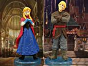 Princess Anna And Kristoff Puzzle game