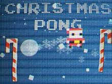 Christmas Pong game