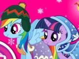 play My Little Pony Winter Looks