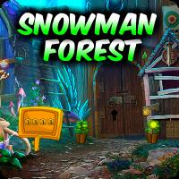 play Snowman Forest Escape