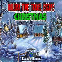 play Holiday Time Travel Escape - Christmas