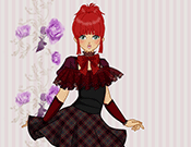 Anime Gothic Girl Makeover game