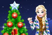 play Frozen Christmas Tree