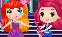 play Chibi Princesses Rock N Royals Style