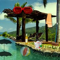 play Escape Game: New Year Beach Party