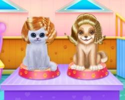 play Kitty And Puppy Friendship