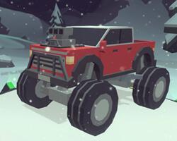 play 3D Monster Truck: Icyroads