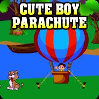 play Cute Boy Parachute Escape
