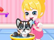 play Baby Anna A Day With Puppy