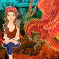 play Phoenix Bird Forest Escape