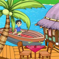 play Games2Jolly-Little-Boy-River-Escape