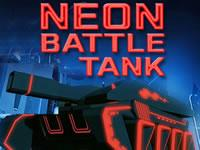 Neon Battle Tank game