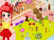 Girly Doll House Decoration game