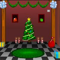 play Knfgame Winter Christmas House Escape
