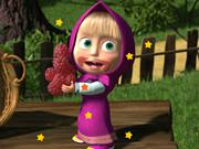 play Masha And The Bear Hidden Stars