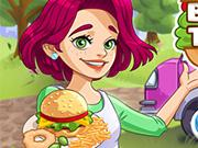 play Burger Truck Frenzy Usa