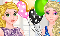 play Frosty Princesses Party Surprise