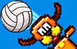 Pixel Volleyball game