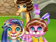 Crazy Hair Salon At Zoo game