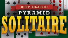 play Best Classic Pyramid Solitaire