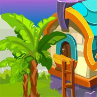 Games4King Cute Girl Escape From Fantasy House game