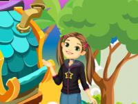 Cute Girl Escape From Fantasy House game