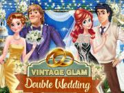 Vintage Glam Double Wedding game