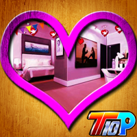 play Top10 Valentine House Escape 5