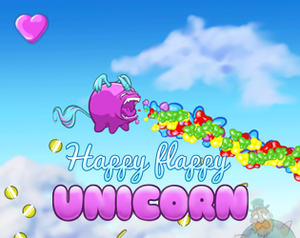 play Happy Flappy Unicorn