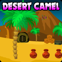 Desert Camel Escape game