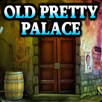 Old Pretty Palace Escape game