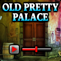 Old Pretty Palace Escape Walkthrough game