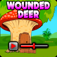 Wounded Deer Escape Walkthrough game