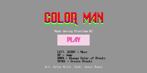 Colorman game