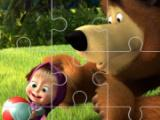 play Masha And The Bear Jigsaw Puzzle