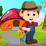 play Farmer Escape From Forest House
