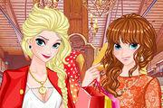 play Princess Spring Shopping Sale Girl